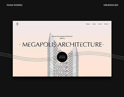 Architecture & Design / Corporate website   UI Design