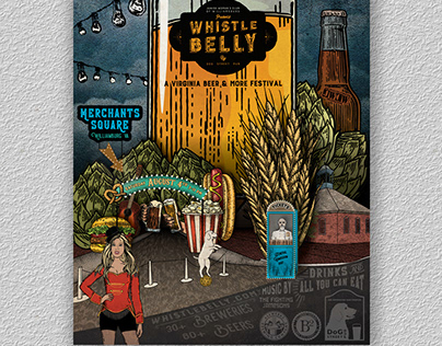 Whistle Belly Poster 2018