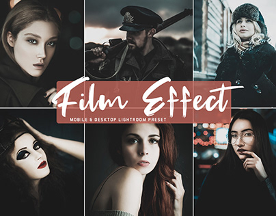 Free Film Effect Mobile & Desktop Lightroom Preset