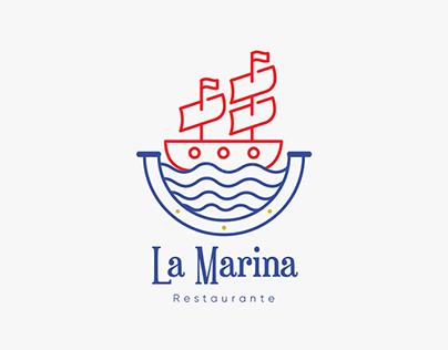 "Branding restaurante ""La Marina"""