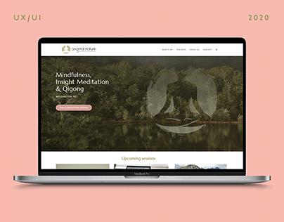 Original Nature Website Design   UX / UI / Web