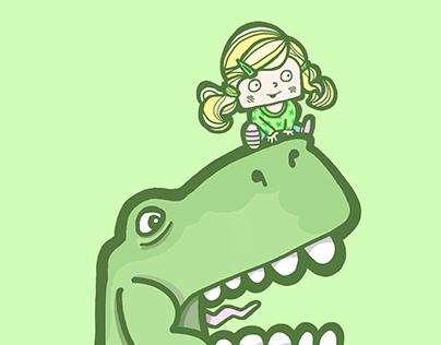 Let's Go Mr T-rex!