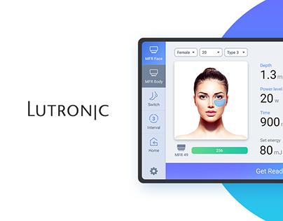 LUTRONIC GENIUS UI Design