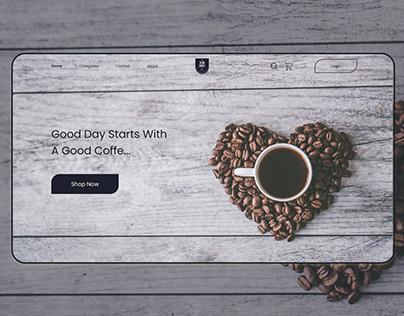 The Club Coffe E-commerce Website.