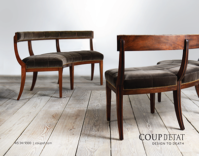LUXE Magazine Furniture Photography