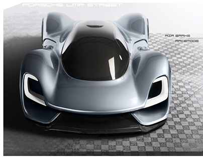 Porsche Design Internship 1:3 Clay Model - PORSCHE LMP