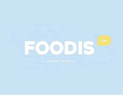 FOODIS // Love food, no waste