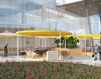 Retail Park - CGI Images
