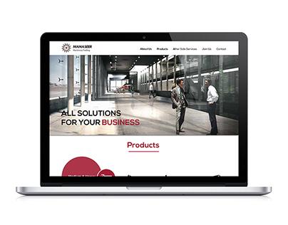 Manaseer Machinery | Website Design