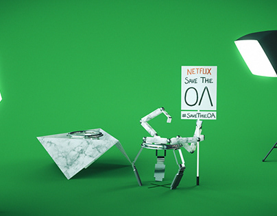 THE OA - PROTEST ROBOT