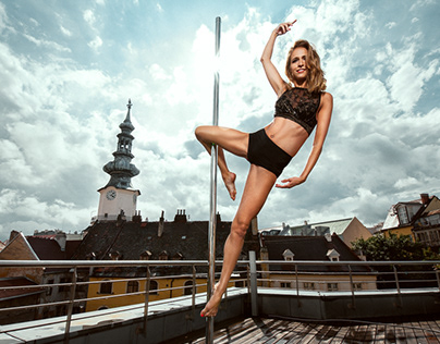 Poledance Peta Rooftop