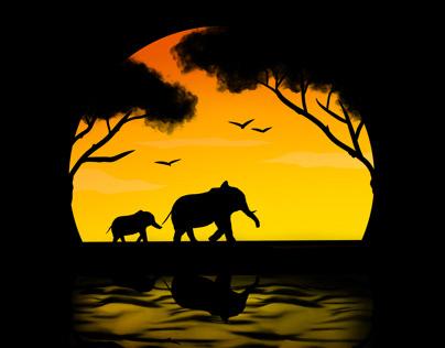 Wildlife | Digital Illustration