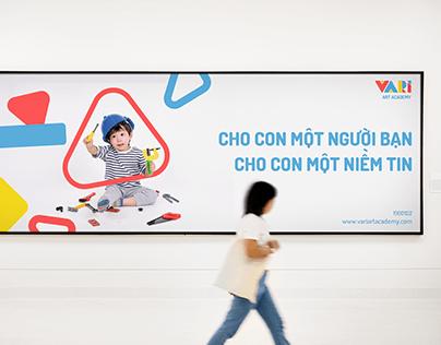 VARI ART ACADEMY | Brand identity