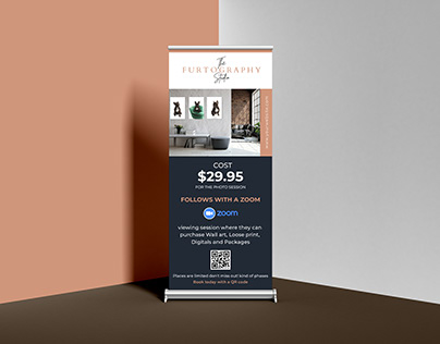 Roll up banner and A5 Flyer design