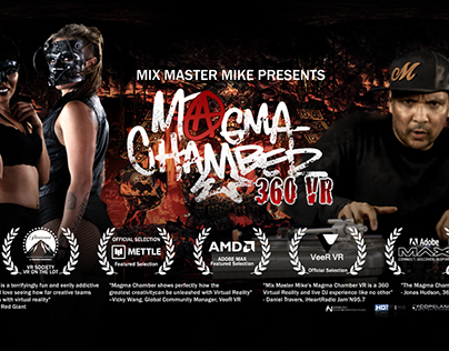 Mix Master Mike's Magma Chamber 360VR