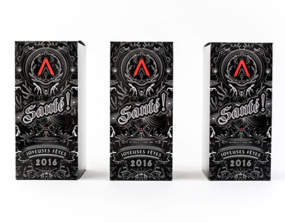 Voeux 2016 Agence Carbure - Packaging