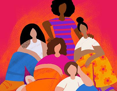 International Women's Day 2021   Illustration