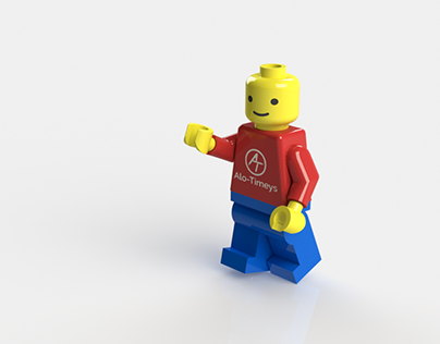 3D model of Lego Toy