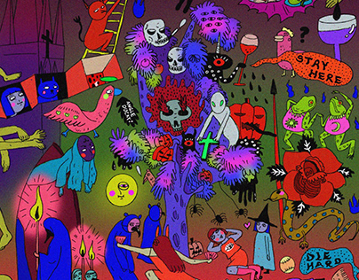 Halloween Graphic | The After Life