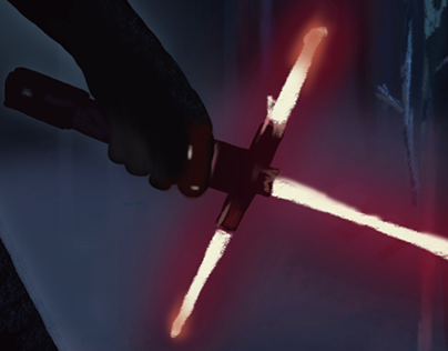 The Force Awakens- Kylo Ren Illustration