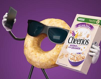 Cheerios Avena y Más Granos