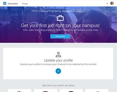 Linkedin CampusHire