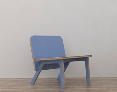 Lola lounge chair - concept