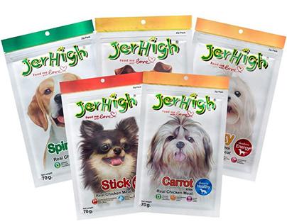 Jerhigh - Thương hiệu thức ăn thú cưng hàng đầu Thái