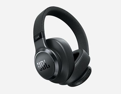 JBL LIVE 650BT Noise cancelling Headphones