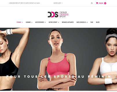 Bannières - Dessus Dessous Sport