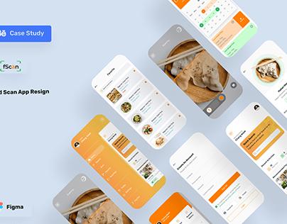 Food Scan App (Redesign)