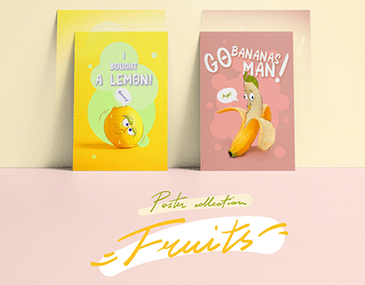 Poster Collection | Fruits & vegetables
