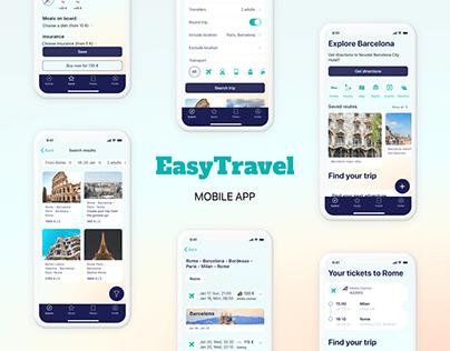 Easy Travel - Mobile app for travelers