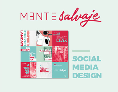 Mente Salvaje - Social Media Design