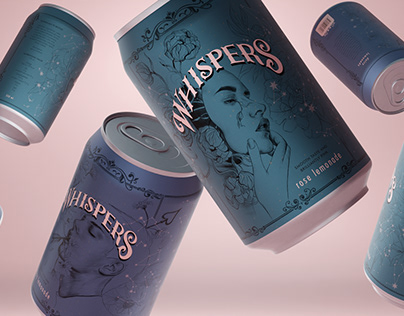 Whispers – soft drink (Logo/Packaging)