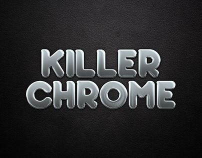 Shiny Chrome Text Effect - Adobe Photoshop Tutorial