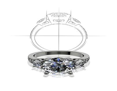 Wedding rings of the stars
