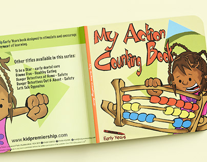 My Action Counting Book