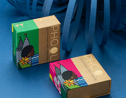 Phool Incense Sticks and Cones Packaging