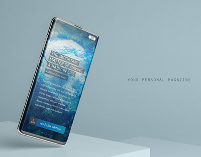 Personal Magazine App Concept