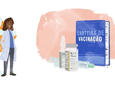 Ilustrações | Boas Práticas em serviços de vacinação