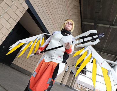 Mercy Costume and Props