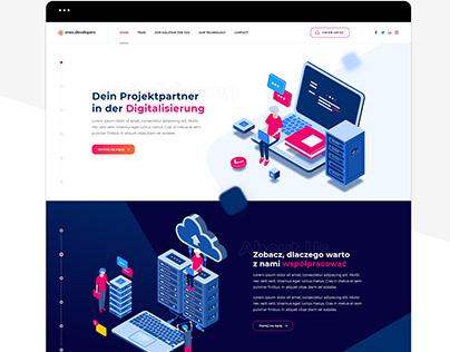 Onex Developers - Strona WWW