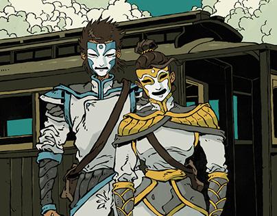 Mask - Comic Project