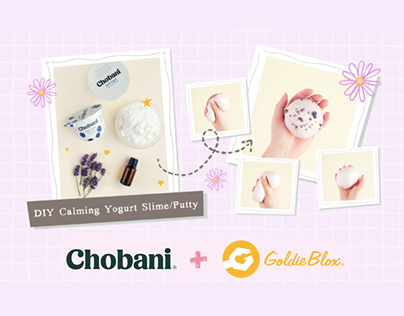 DIY Downloadable Activities - Chobani + GoldieBlox