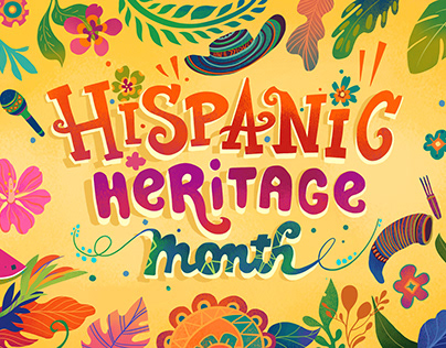 Nick Jr. Hispanic Heritage Month Title Cards and Items