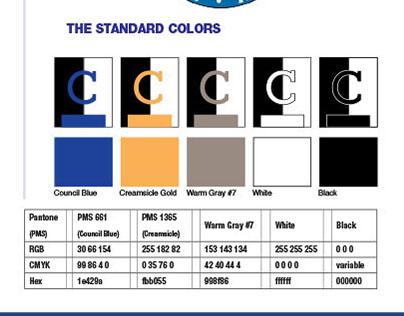 Philadelphia City Council Graphic Standards Stylesheet