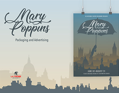 Mary Poppins Rebrand
