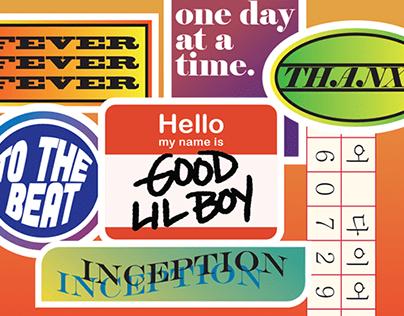 ATEEZ FEVER Tracks Free Sticker Pack