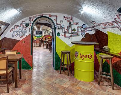 Tsypa Craft Pub - Rakhov, Ukraine (interior renovation)